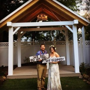 Elopement at the Phineas Swann Bed and Breakfast Inn near Jay Peak Vermont