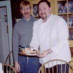 Glen & Micheal, former owners of the Phineas Swann Bed & Breakfast Inn near Jay Peak, Vermont