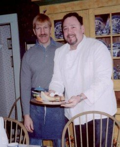 Glen & Micheal, former owners of the Phineas Swann Bed & Breakfast Inn near Jay Peak, Vermont for Phineas Swann Homecoming