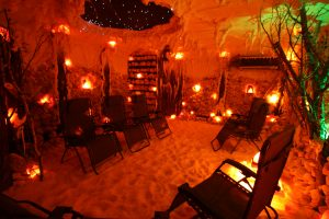 Vermont Salt Cave package at the Phineas Swann Bed and Breakfast near Jay Peak Vermont