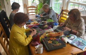 Vermont Knitting Retreats like Woolstock 2016 at the Phineas Swann Bed and Breakfast Inn near Jay Peak are great fun