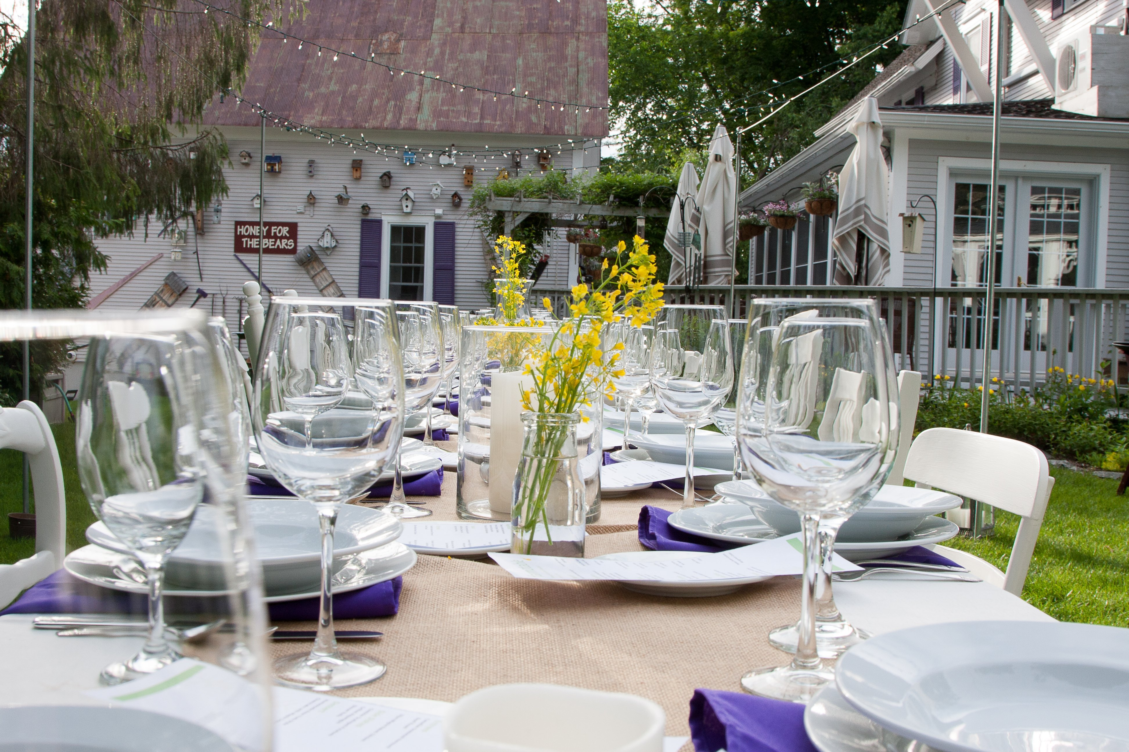 Farm to Table Dinner Phineas Swann Bed and Breakfast Vermont