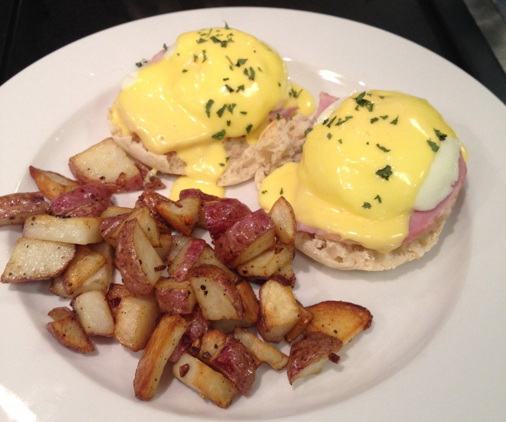 Eggs Benedict is just one of our offerings where bed and breakfast food safety is important