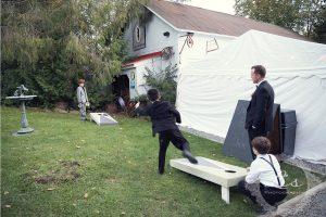 wedding reception timeline - games