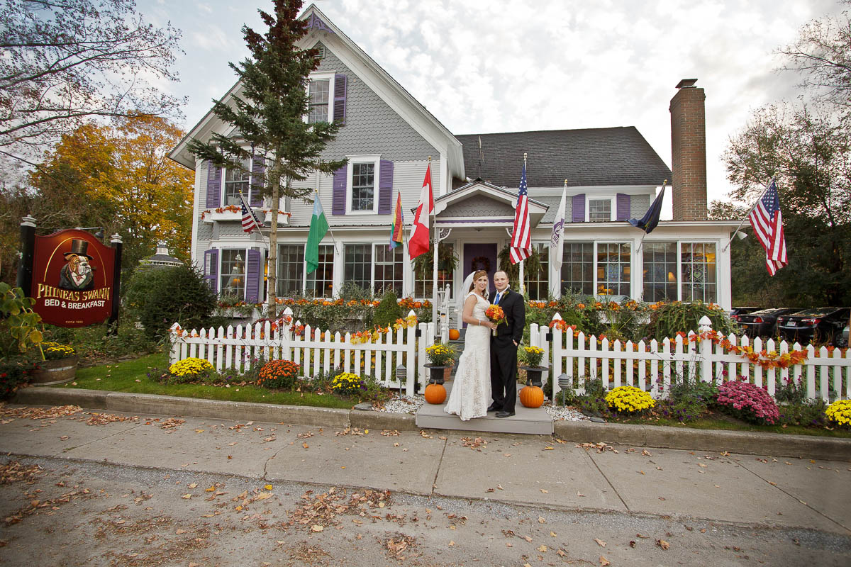 Jay Peak Weddings at Phineas Swann Bed and Breakfast Inn