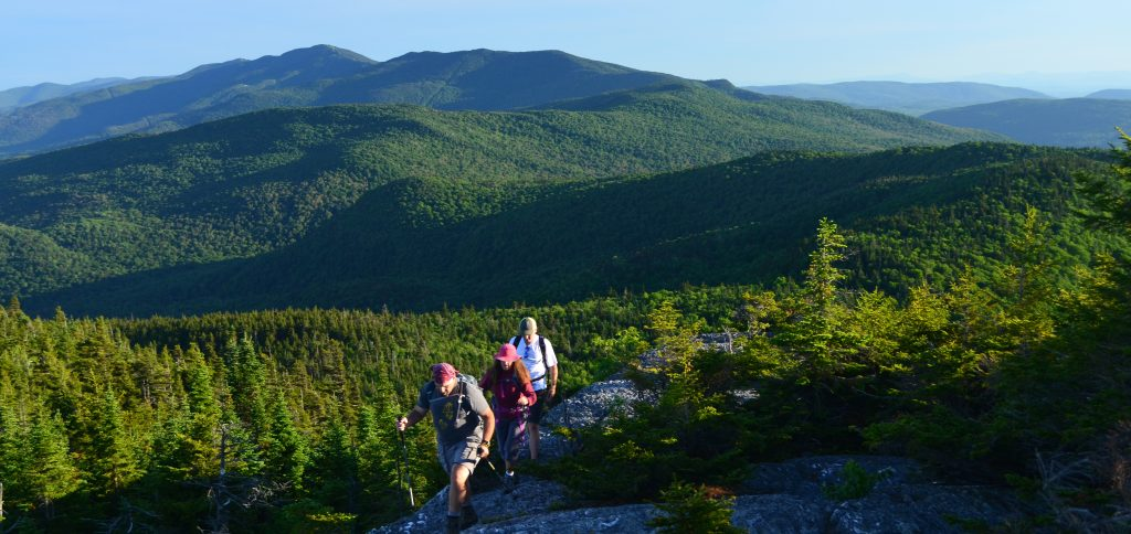Hiking Northern Vermont: The Long Trail near the Phineas Swann Bed and Breakfast Inn in Montgomery near Jay Peak