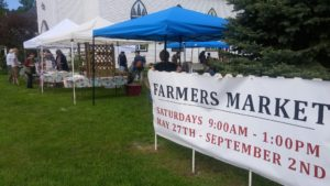 Montgomery Vermont Farmers Market near the Phineas Swann Bed and Breakfast Inn