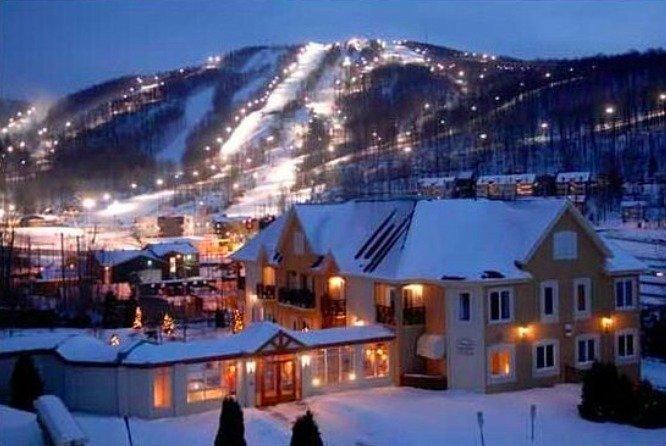 Bromont Ski Resort, Quebec