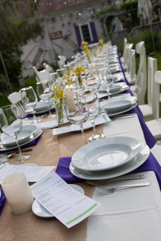 Garden Reception at Phineas Swann